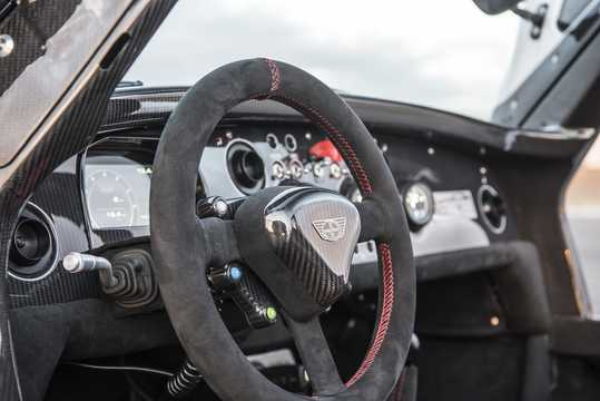 Interior of Donkervoort D8 GTO-40 2.5 TFSI Manual, 415hp, 2018