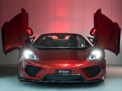 Front  of FAB Design MP4-12C Spyder Terso 3.8 V8 DCT, 691hp, 2013