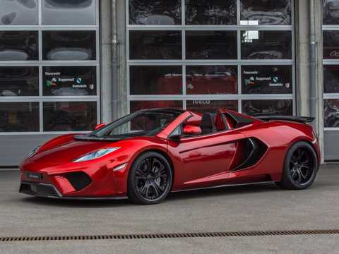 Front/Side  of FAB Design MP4-12C Spyder Terso 3.8 V8 DCT, 691hp, 2013