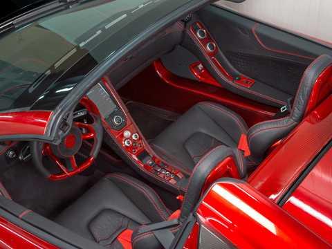 Interior of FAB Design MP4-12C Spyder Terso 3.8 V8 DCT, 691hp, 2013