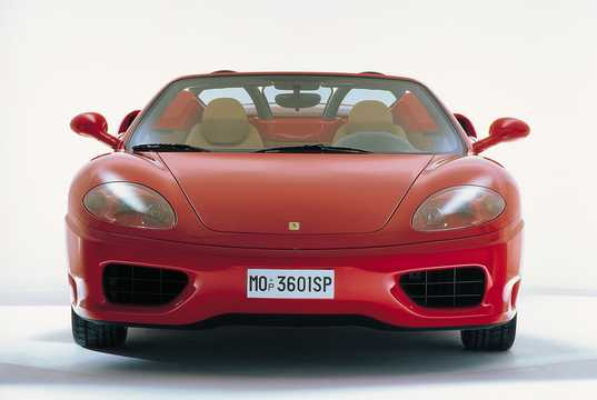 Front  of Ferrari 360 Spider 2002