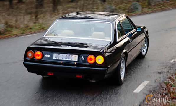 Bak/Sida av Ferrari 412 4.9 V12 Automatic, 340ps, 1987
