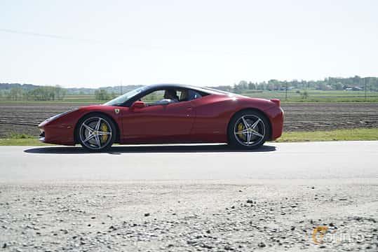 Sida av Ferrari 458 Italia 4.5 V8  DCT, 570ps, 2014 på Tjolöholm Classic Motor 2017
