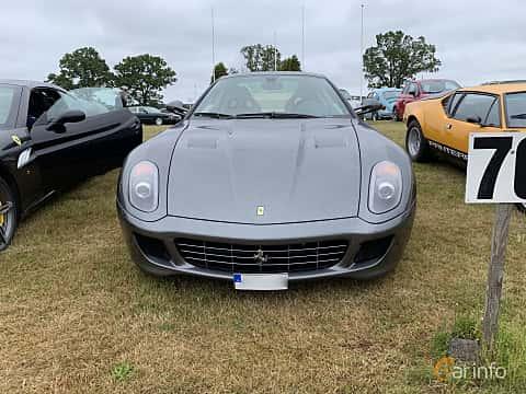 Front  of Ferrari 599 GTB 6.0 V12 Sequential, 620ps, 2009 at Svenskt sportvagnsmeeting 2019