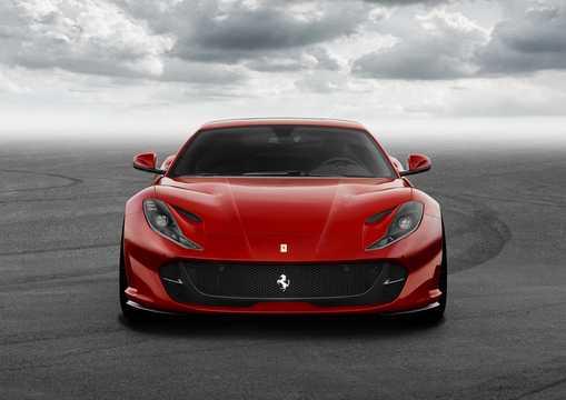 Front  of Ferrari 812 Superfast 6.5 V12 DCT, 800hp, 2018