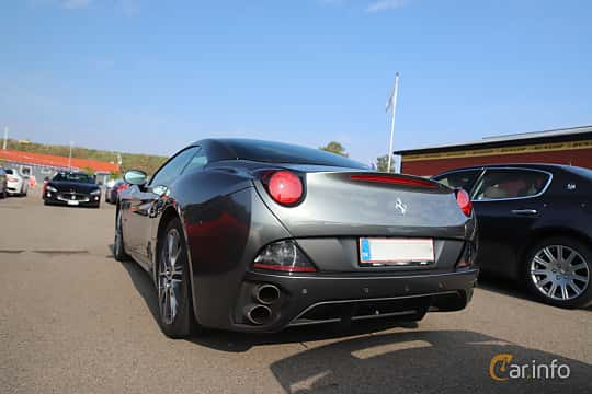 Back/Side of Ferrari California 4.3 V8  DCT, 460ps, 2012 at Autoropa Racing day Knutstorp 2019