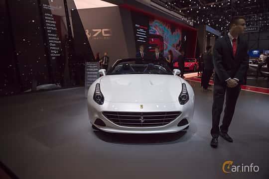 Fram av Ferrari California T 3.9 V8  DCT, 560ps, 2017 på Geneva Motor Show 2017