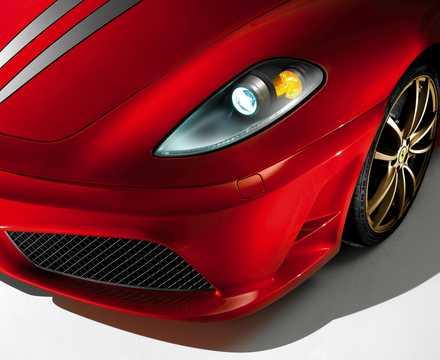 Close-up of Ferrari 430 Scuderia 4.3 V8 Sequential, 510hp, 2008