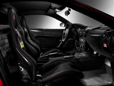 Interior of Ferrari 430 Scuderia 4.3 V8 Sequential, 510hp, 2008