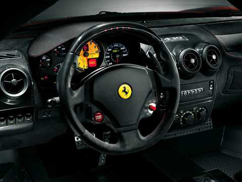 Interior of Ferrari 430 Scuderia 4.3 V8 Sequential, 510hp, 2008