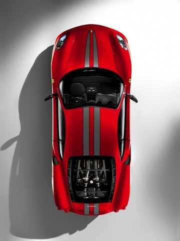 Top  of Ferrari 430 Scuderia 4.3 V8 Sequential, 510hp, 2008