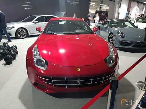 Front  of Ferrari GTC4 Lusso 2017 at Warsawa Motorshow 2018