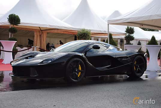 Front/Side  of Ferrari LaFerrari 6.3 V12 DCT, 963ps, 2014 at Autoropa Racing day Knutstorp 2015
