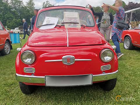 Front  of Fiat Nouva 500 0.5 Manual, 14ps, 1958 at Sofiero Classic 2019
