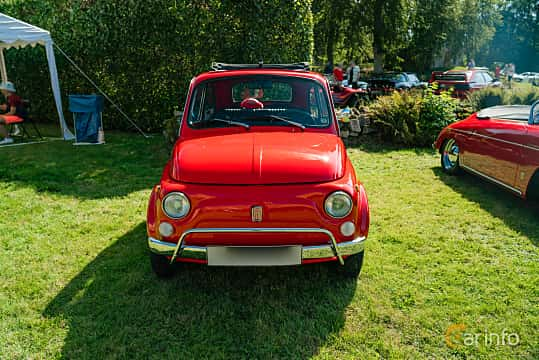 Front  of Fiat 500 L 0.5 Manual, 18ps, 1969 at Sportbilsklassiker Stockamöllan 2019