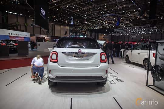 Back of Fiat 500X 2019 at Geneva Motor Show 2019