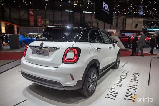 Back/Side of Fiat 500X 2019 at Geneva Motor Show 2019