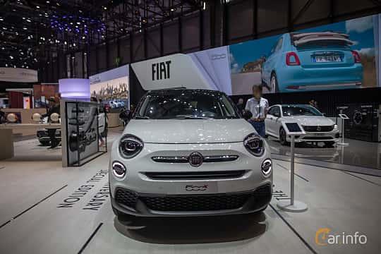 Front  of Fiat 500X 2019 at Geneva Motor Show 2019