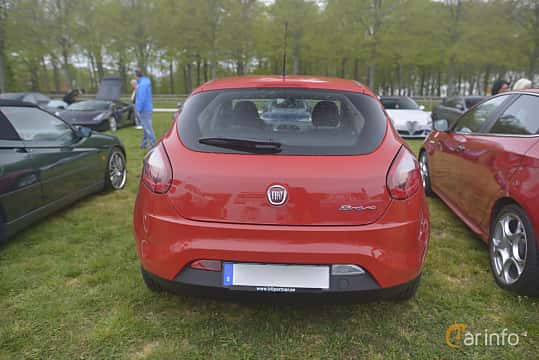 Bak av Fiat Bravo 1.4 Manual, 90ps, 2011 på Italienska Fordonsträffen - Krapperup 2019