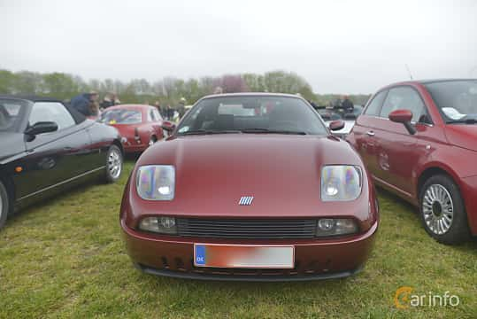 Front  of Fiat Coupé 2.0 Manual, 147ps, 1997 at Italienska Fordonsträffen - Krapperup 2019