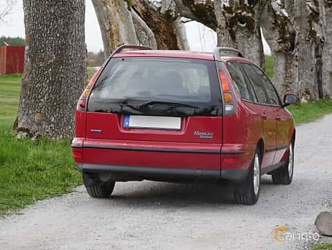 Bak/Sida av Fiat Marea Weekend 1.6 Manual, 103ps, 2002 på Italienska Fordonsträffen Sigtuna 2016