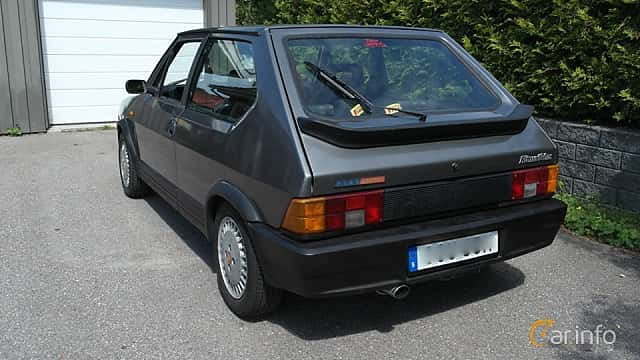 Back/Side of Fiat Ritmo 3-door 2.0 Manual, 130ps, 1986
