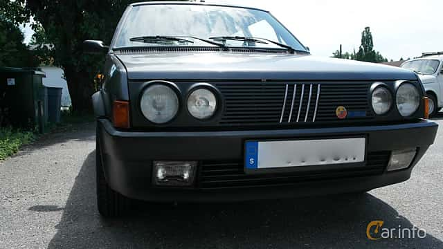 Fram av Fiat Ritmo 3-door 2.0 Manual, 130ps, 1986