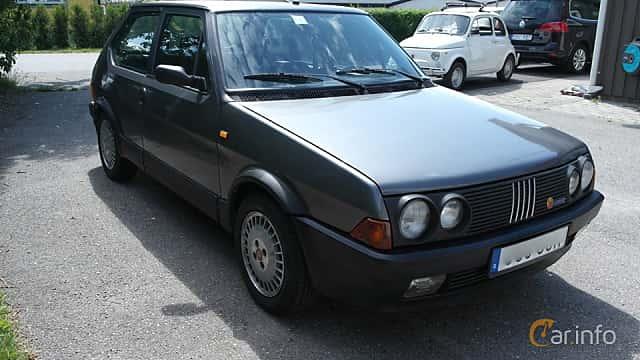 Front/Side  of Fiat Ritmo 3-door 2.0 Manual, 130ps, 1986