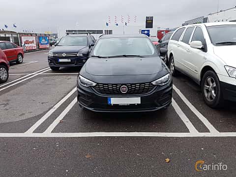Front of Fiat Tipo Sedan 1.4 Manual, 95ps, 2016