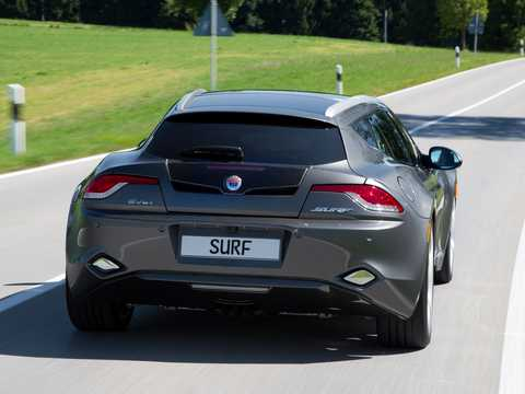 Back/Side of Fisker Surf 2.0 VVT DI Concept, 590hp, 2011