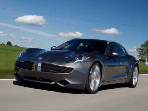 Front/Side  of Fisker Surf 2.0 VVT DI Concept, 590hp, 2011