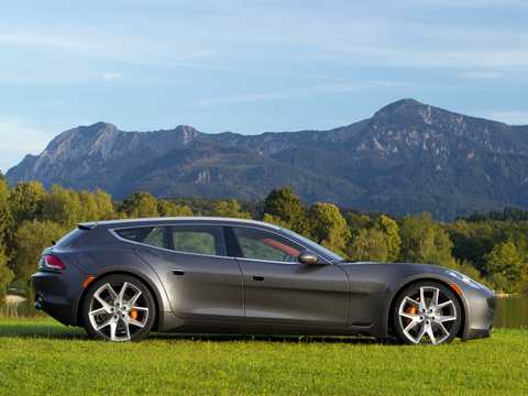 Side  of Fisker Surf 2.0 VVT DI Concept, 590hp, 2011