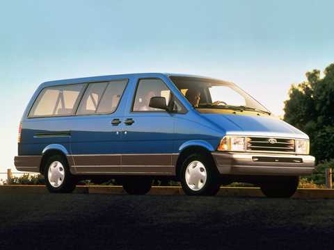 Front/Side  of Ford Aerostar Extended 1992