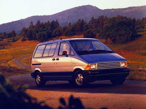 Front/Side  of Ford Aerostar 1986
