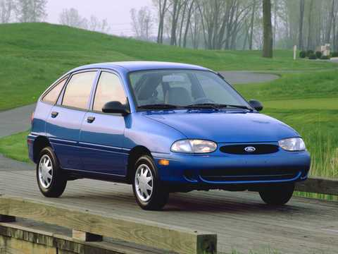 Front/Side  of Ford Aspire 5-door 1997