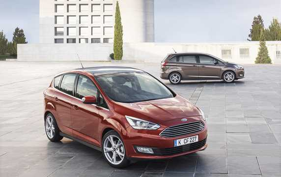 Front/Side  of Ford C-Max 2017