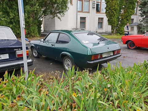 Back/Side of Ford Capri 1.6 Manual, 70ps, 1982 at Old Car Land no.2 2018