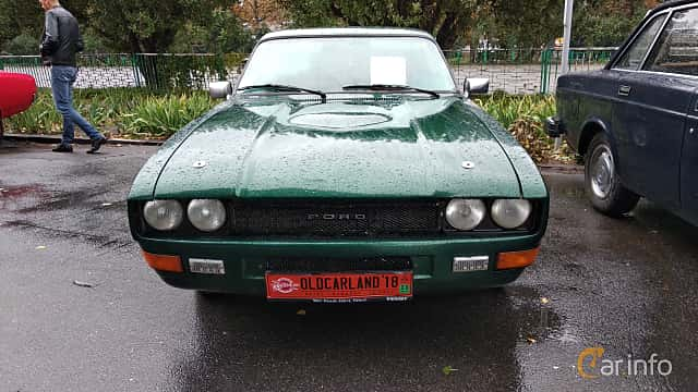 Front  of Ford Capri 1.6 Manual, 70ps, 1982 at Old Car Land no.2 2018