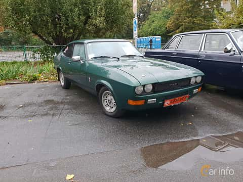 Front/Side  of Ford Capri 1.6 Manual, 70ps, 1982 at Old Car Land no.2 2018