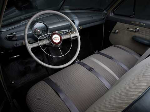 Interior of Ford Custom Deluxe Tudor Sedan 3.9 V8 Manual, 102hp, 1950