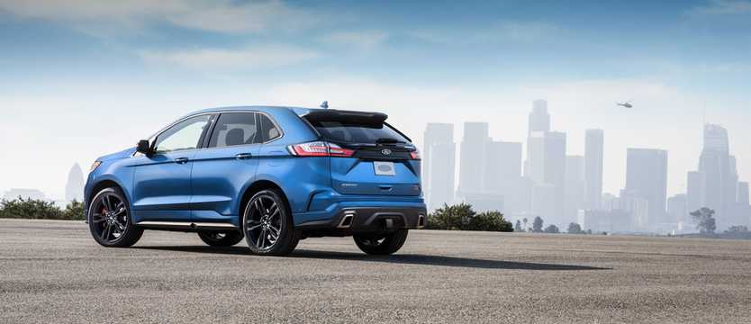 Back/Side of Ford Edge ST 2.7 V6 EcoBoost AWD Automatic, 329hp, 2019
