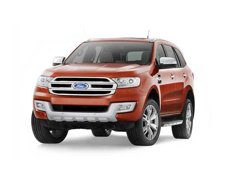 Front/Side  of Ford Everest 4th Generation