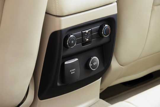 Interior of Ford Everest 4th Generation