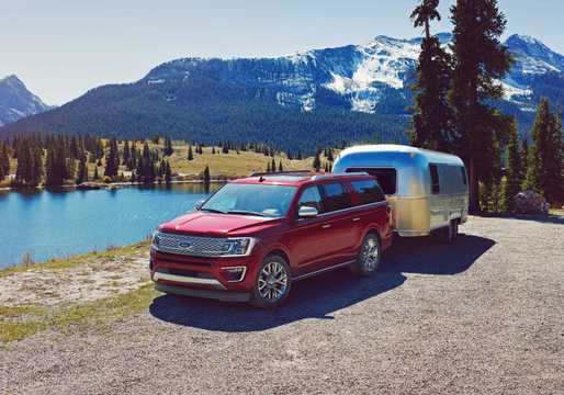 Front/Side  of Ford Expedition 2018