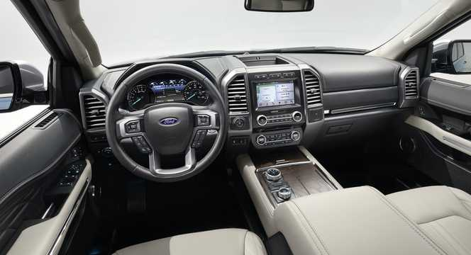 Interior of Ford Expedition 2018