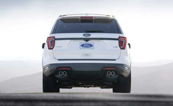 Back of Ford Explorer 2018