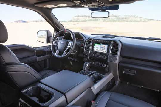 Interior of Ford F-150 Raptor SuperCrew 3.5 V6 Ecoboost 4x4 Automatic, 456hp, 2017