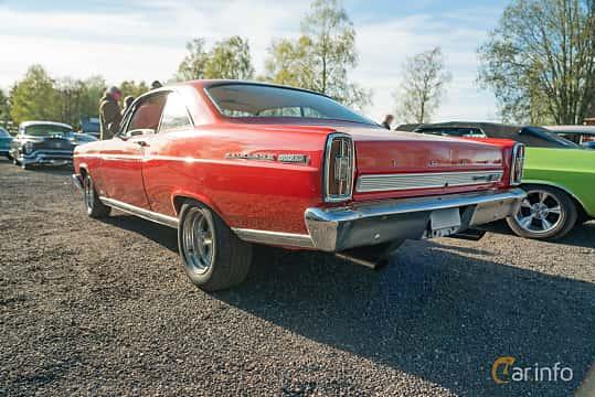 Back/Side of Ford Fairlane 500/XL Hardtop 4.7 V8 Automatic, 203ps, 1966 at Lissma Classic Car 2019 vecka 20