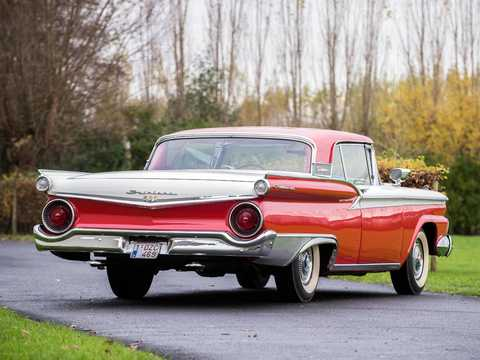 Back/Side of Ford Fairlane 500 Skyliner 1959