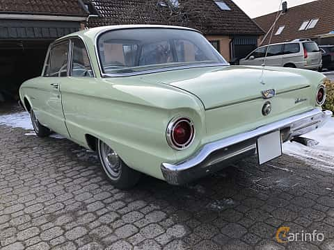 Bak/Sida av Ford Falcon 2-door Sedan 2.4 Manual, 87ps, 1960